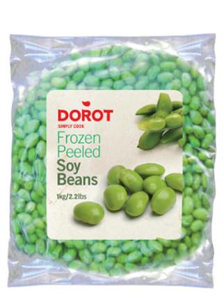 geschälte Sojabohnen 1kg tiefgefroren