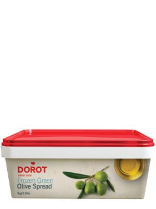 grüne Oliven Spread 1kg tiefgefroren